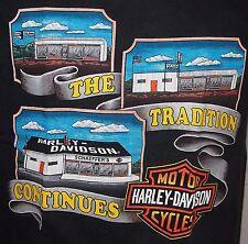Harley Davidson T-Shirt Schaeffer's Orwigsburg PA size Medium Made in USA