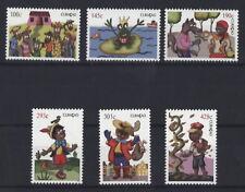 CURACAO 2013-FIABE-Cappuccetto rosso Pinocchio rana RE Fairy Tales MER. 200-05