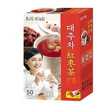 Jujube Tea Plus (50 x 15g) Korean Tea Healthy Herbal Instant Tea