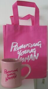 PROMISING YOUNG WOMAN OFFICIAL MOVIE PROMO MUG & SMALL TOTEBAG CAREY MULLIGAN