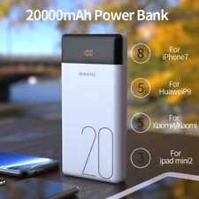 Power Bank Digital Display 20000mAh Dual USB 3.0 Portable ROMOSS Flash Charger