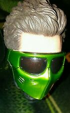 1/6 Hot Toys New Goblin MMS151 Head With Green Mask and Glasses  *US Seller**