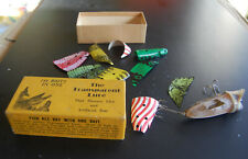 1940s Fishing Lure in original box The Transparent Lure 144 baits in one