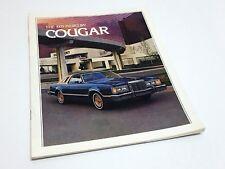 1979 Mercury Cougar XR-7 Brougham Brochure