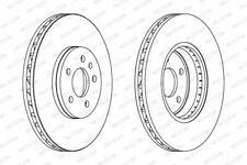 Ferodo DDF1664C Brake Disc Set Coated Front Axle