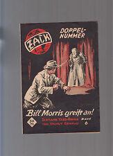 Händler Beilage / Werbeinfo für die Abenteuer- Kriminalserie Zack 1949 - selten