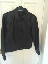 New Look Ladies Black Biker Style Jacket