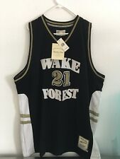 Wake Forest Tim Duncan #21 NWT $450 Headmaster Limited Edition Men Size 60 1997