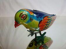 TIN TOY BLECH WINDUP CHINA MS 029 - PECKING BIRD L8.0cm - GOOD CONDITION