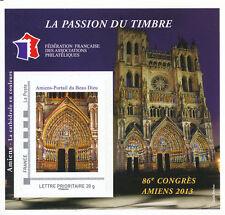 BLOC FFAP N° 07 ** 86ème Congrès Amiens 2013