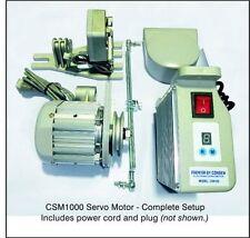 Consew CSM1000 Sewing Machine Electric Servo Motor, 110 Volt, 3/4HP, 550W NEW