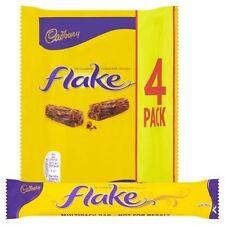 Cadbury escama de chocolate con leche Pack de 4 (4 X 20g barras) UK