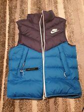 Nwt Nike Sportswear Windrunner Down Fill VEST Blue 928859-451 NSW ACG Sz Large
