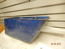 Right Lower Saddlebag Harley FLH Shovelhead Vintage Fiberglass Bag Bottom OEM