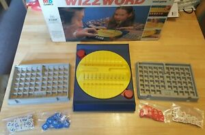 Vintage MB Games WIZZWORD The fast moving, quick thinking word game 1977 Edition