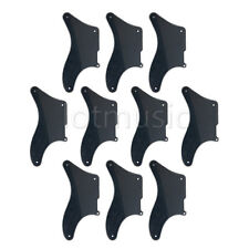 10pcs Guitar Pickguard For Fender La Cabronita Telecaster Tele Parts 3Ply Black