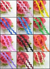 RIC RAC Ribbon/Braid/Trimming  Reel 5mm 25Yards Choice of Colours DIY Bow Craft