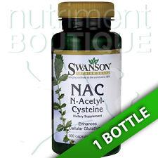 NAC N-Acetyl Cysteine 600 mg 100 Capsules by Swanson