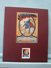 DC Comics Hero Superman honored by the Superman Stamp