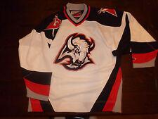 Buffalo Sabres NHL jersey White Pro Player LARGE mens jersey L@@K Measurements