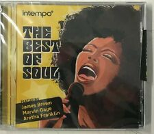 The Best Of Soul (CD) Aretha Franklin James Brown Etta James-New Sealed