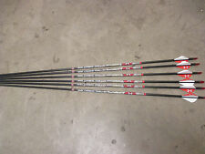 6 Easton Arrow Axis Under Armour 6MM 6pk 340 Spine Under Armour Fletched Arrows