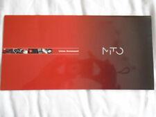 ALFA ROMEO MITO accessori BROCHURE GAMMA c2012