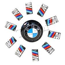 10X FÜR BMW M3 M5 M6 FELGEN TACHO LENKRAD EMBLEM AUTO AUFKLEBER 3D CAR STICKER