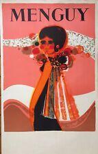 Menguy Frédéric Affiche en lithographie galerie Paris