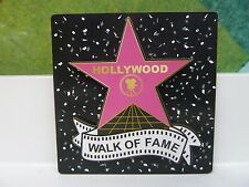 """HOLLYWOOD STAR WALK OF FAME SOUVENIR  MAGNET 3"""" BY 3"""" colorful"""
