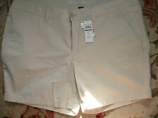 "EDDIE BAUER WOMEN LEGEND WASH SHORTS 5 3/4"" INSEAM  MISSES SIZE 16"