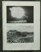 AQ) Blatt 2.WK 1940 Artillerie Geschütz Bunker Polen Panzer Brücke Wisloka WWII