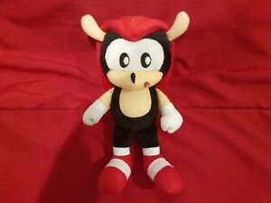 Sonic The Hedgehog Jakks Pacific Prototype First Mighty Plush 6""