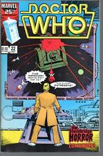 Doctor Who 22      Marvel 1986