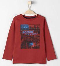 s.Oliver Jungen-T-Shirts, - Polos & -Hemden Größe 140 aus 100% Baumwolle