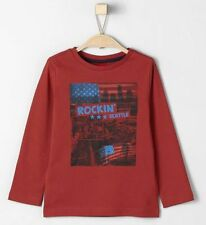 s.Oliver Langarm Jungen-T-Shirts, - Polos & -Hemden Größe 140