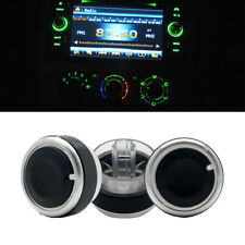 3Pcs Air Condition Knob Car A/C Heater Control Switch for Ford Focus 2005-2012
