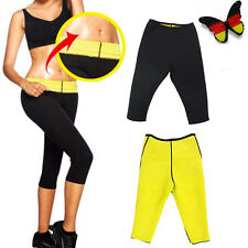 Neopren Thermo Slimming Shaper Pants Figurformer Bodyshaper Hohe Taile Yoga XL