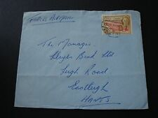 Gold Coast 1949 Commercially Used Force Air Mail Cover 2.5c Rate To England GB