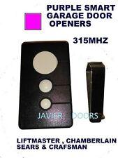 Liftmaster Chamberlain CPTK13 3button Garage Door Opener remote Control 315 mhz
