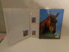 Vintage Briefpapier für Kinder mit Pferdemotiv DIN A5 Hans Postler 90er J. Nr.2