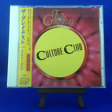 CULTURE CLUB: (Best Of) The Greatest (RARE OOP 1998 JAPANESE LIMITED EDITION)