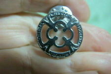 - With God Together Vintage Lapel Pin silver color