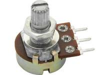 Lineares Drehpoti Potentiometer B 2 K B 50 K Ohm  mono stereo logarithmisch