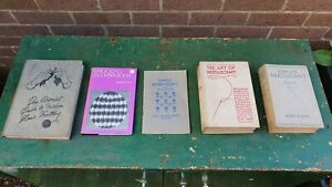 Vintage Sewing Crafts Needlework Embroidery Books Job lot