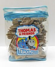 Thomas & Friends Trackmaster Tan Deluxe Expansion Track Pack 32 PC Lot Backpack
