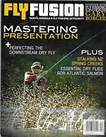 Fly Fusion Fishing Magazine Mastering Presentation Downstream Dry Fly Creeks