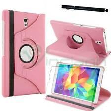 Pellicola+Pennino+Custodia Rotante ROSA per Samsung Galaxy Tab S 8.4 T700 T705