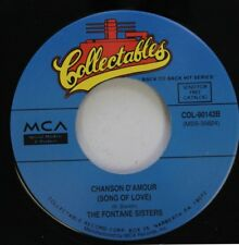 Soul 45 The Fontane Sisters / The Shirelles - Chanson D'Amour (Song Of Love) / I