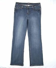 Womens Venezia Jeans Size 2 Stretch Boot Cut Average W37 L32